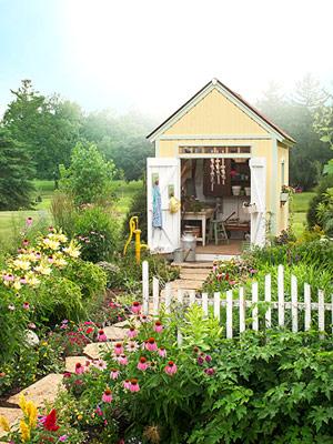 Къщичка за градинари