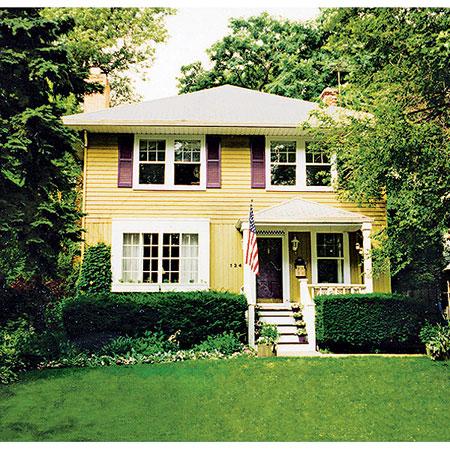 Боядисана къща