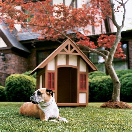 Стилна къща за куче
