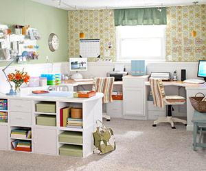 Интериор на домашен офис