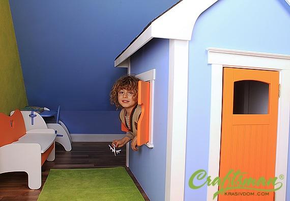 Къщичка за детската стая.