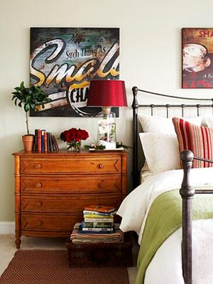 Спалнята след
