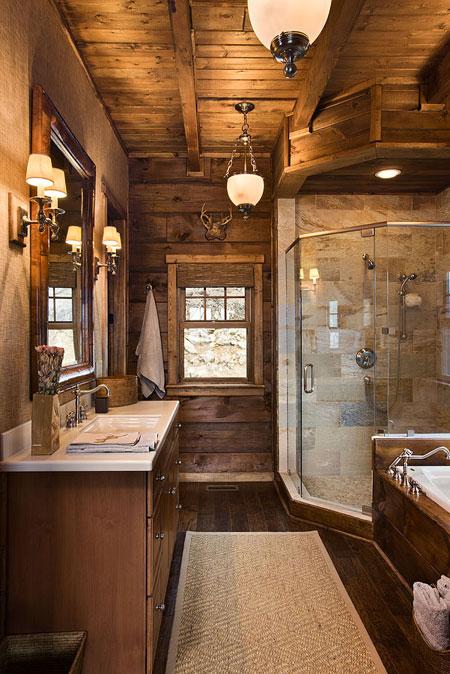 Планински интериор - баня