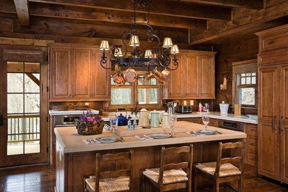 Планински интериор -кухня