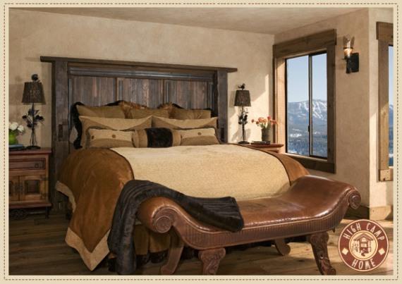 Рустикална спалня