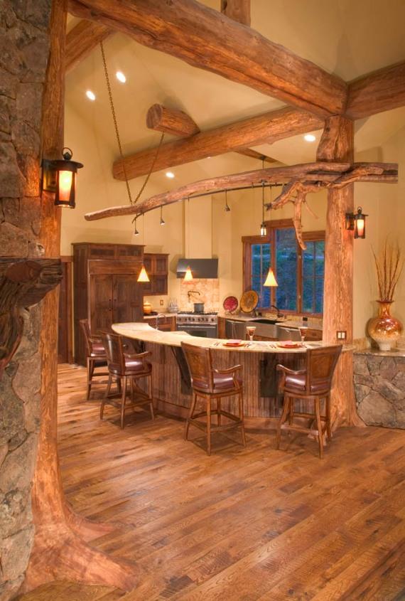 кухня  в планинска къща