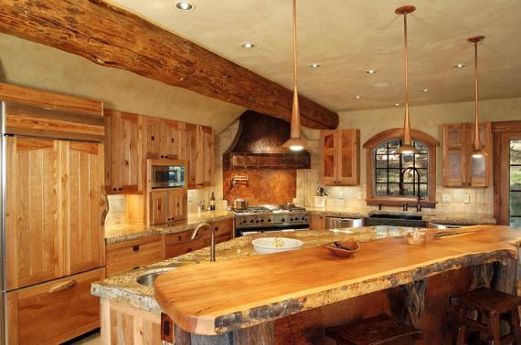 кухня в лог къща