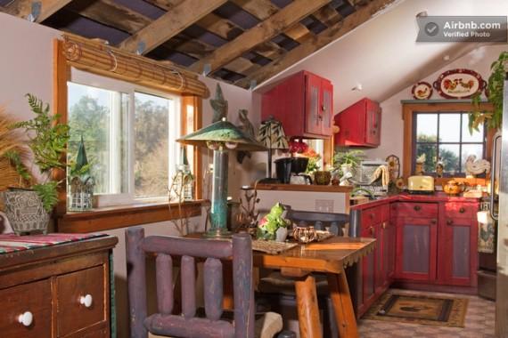 Селска къща - интериор