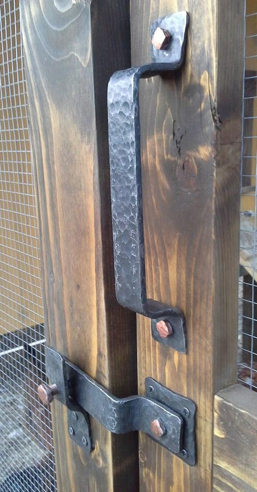 дръжка от ковано желязо