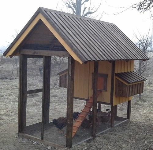 Селски кокошарник