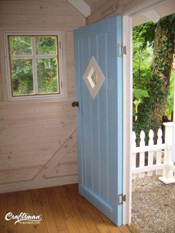 интериор градинска къщичка за деца